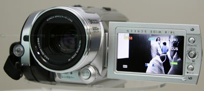 Videocámara JVC Everio GZ-HD3