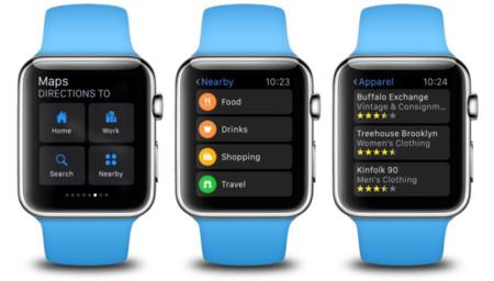 Apple Watch Maps Watchos 2 2