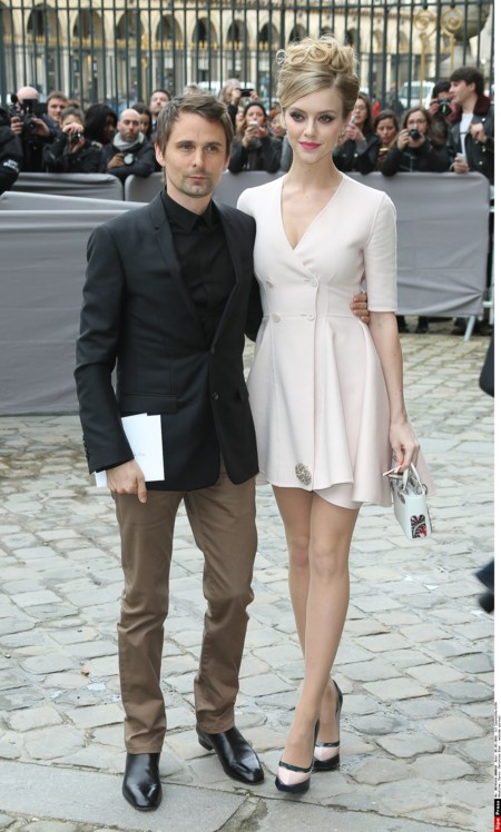 Matt Bellamy y Elle Evans