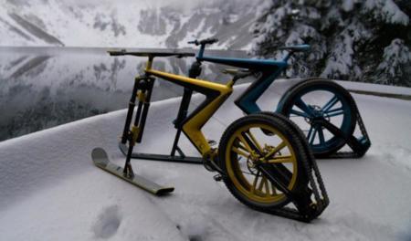 Venn Sno Bike Designboom01
