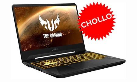 No durará mucho: por sólo 899 euros, tienes en Amazon un potente portátil gaming con gráfica NVIDIA RTX como el ASUS TUF Gaming FX505DV-AL116