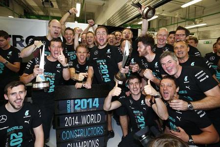 Mercedes AMG se hace con el título en el Mundial de Constructores.