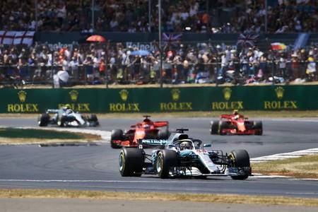 Hamilton Silverstone F1 2018