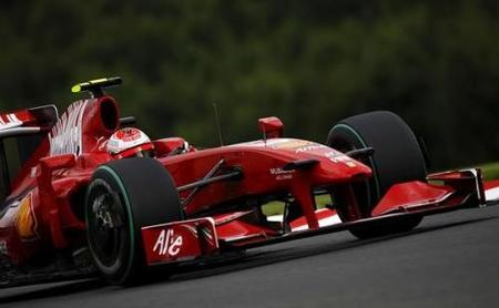 Y a Ferrari le tocó volver en Spa