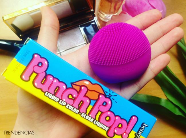 probamos hemos demostrado review foreo luna punch pop labial benefit