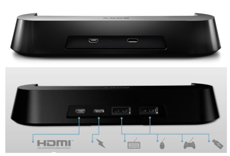 Sony Xperia P TV Dock