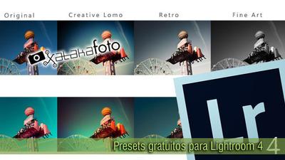 Adictos a los presets de Lightroom: Presets gratuitos para Lightroom 4