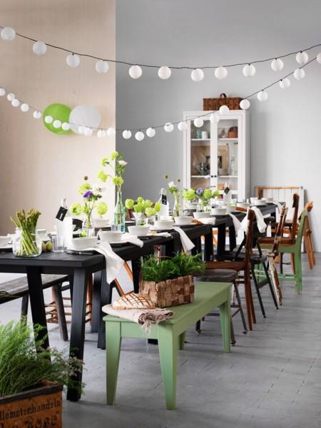 Siete ejemplos de mesas de comedor con sillas diferentes for Comedor sillas diferentes