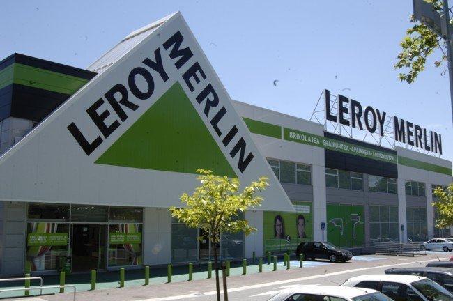 Fachada tienda Leroy Merlin