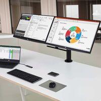 LG renueva la línea de monitores Ergo: ajustables y adaptables, llegan con USB Tipo C y soporte para HDR10