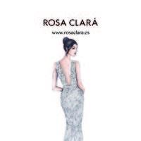 El segundo vestido de novia de Antonella Roccuzzo también es de Rosa Clará