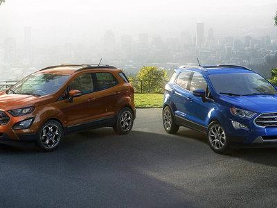 El restyling del Ford EcoSport se centra en el interior y en su conectividad