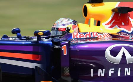 Sebastian Vettel manda en una tercera sesión de entrenamientos libres pasada por agua