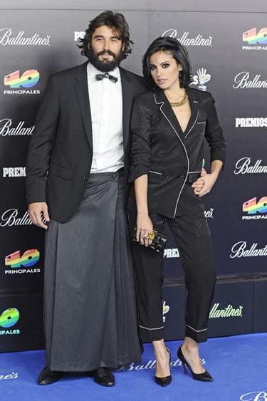 Álex García y su falda en los Premios 40 Principales, ¿aceptamos barco?