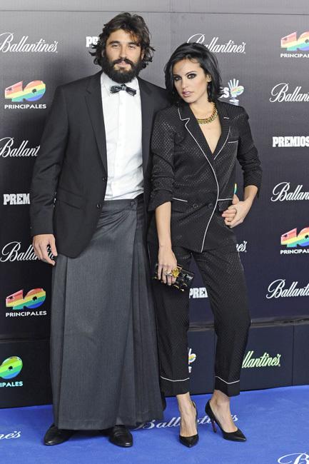 Álex García y Verónica Echegi