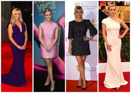 Reese Witherspoon Looks Pre Oscar 2015