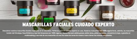 Llévate dos mascarillas faciales por 35 euros y envío gratis en The Body Shop