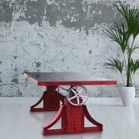 Mesas vintage industrial, para darle un toque único a tu interior
