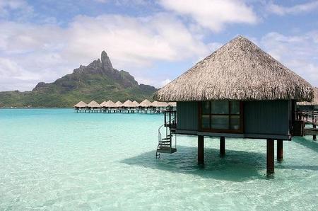 Cabañas sobre el agua Bora Bora
