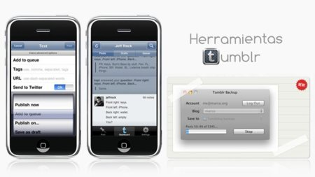 Tumblr y Tumblr Backup, dos buenas aplicaciones para los usuarios de la plataforma de microblogging