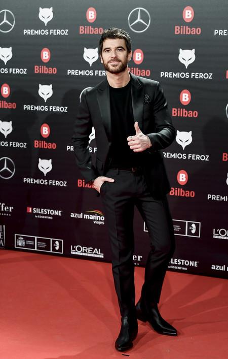 Alfonso Bassave Premios Feroz Alfombra Roja Red Carpet Trendencias Hombre