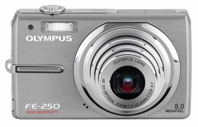 Olympus FE-250, FE-240, FE-230 y FE-210