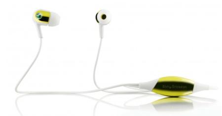 Sony Ericsson MH907, control desde los auriculares