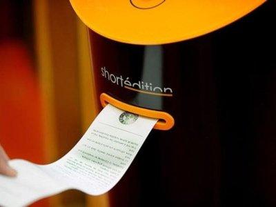 Instalan máquina expendedora de cuentos en las estaciones francesas