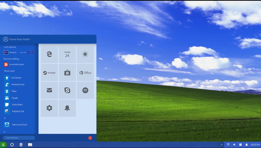 11 Introducing Windows Xp 2018 Edition Concept Youtube 2018 05 16 15 18 02
