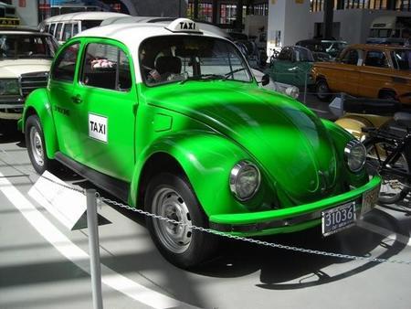 Un vocho-taxi de la Ciudad de México
