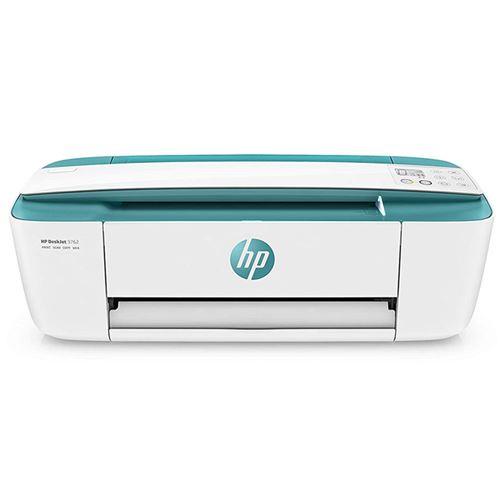 Impresora multifunción HP DeskJet 3762 Blanco/Verde