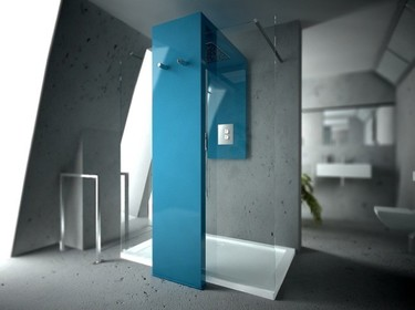 Un dos en uno muy práctico para el baño, radiador y ducha