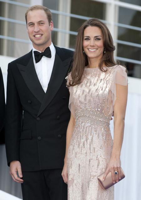 Alfombra roja Kate Middleton Jenny Packham