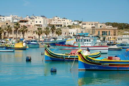 Malta pueblo pesquero