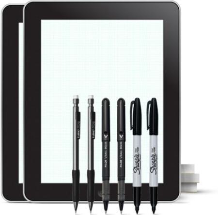 Un iPad de papel para presupuestos ajustados