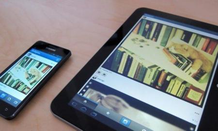 La última actualización de Instagram permite descargas para tabletas Android