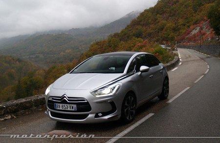 Citroën DS5, presentación y prueba en Niza (parte 2)
