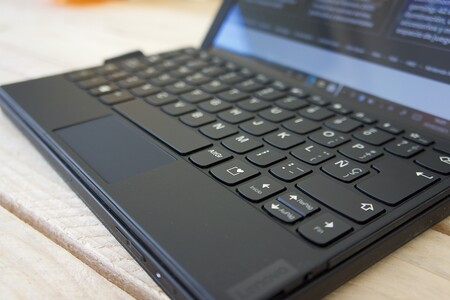 Lenovo Thinkpad X1 Fold Review Teclado Thinkpad