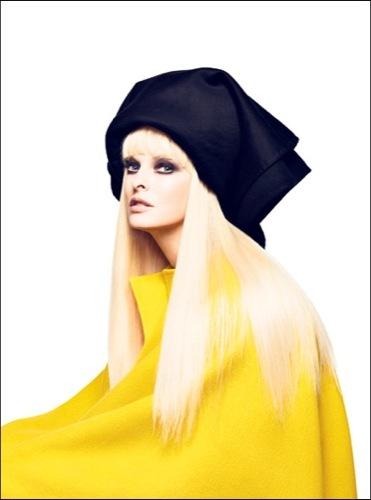Foto de Kate Moss, Lady Gaga, Linda Evangelista y Amber Valletta comparten portada en V (4/6)