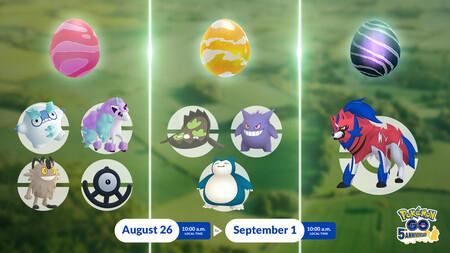 Pokémon GO: todos los Jefes de Incursión para derrotar durante la segunda tanda del evento Ultrabonus Parte 3: Espada y Escudo