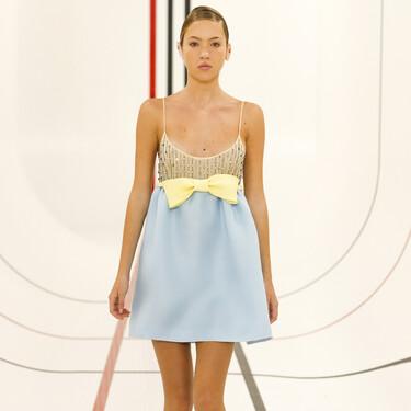La hija de Kate Moss, Lila Grace, protagonista en el desfile Primavera-Verano 2021 de Miu Miu
