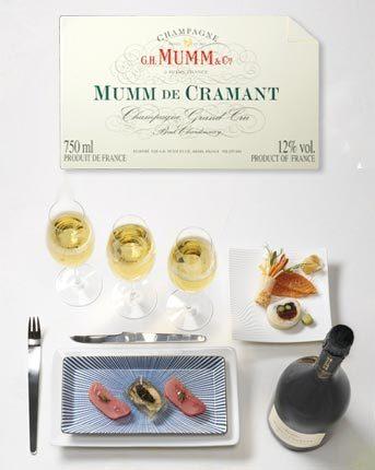 G.H. Mumm, un champagne para cada plato