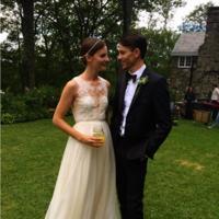 La modelo Sara Blomqvist elige a Valentino para el día de su boda