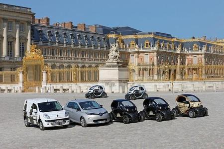 Renault asalta el Palacio de Versalles