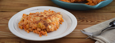 Pasta de lentejas gratinadas con pisto y soja: receta vegetariana rica en proteínas para no aburrirte comiendo legumbres