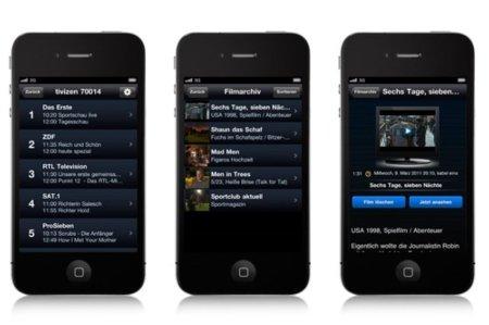 Aplicación Tivizen para iOS