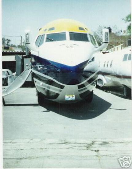 limusina avión Boeing 727