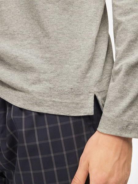 La moda en la cama cuenta, y en invierno los cuadros protagonizan nuestras pijamas