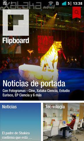 Flipboard oficial en Android