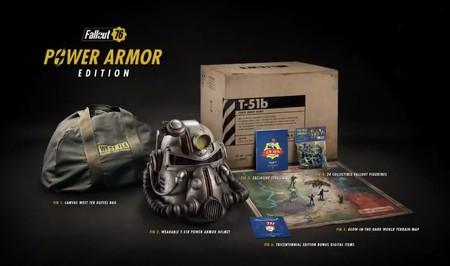 Fallout 76 presenta su Power Armor Edition con un casco totalmente funcional [E3 2018]